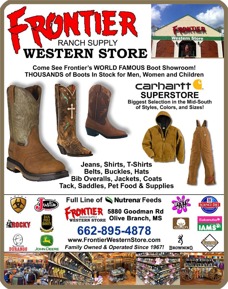 Frontier Western Store: cowboy boots, western wear, Carhartt work ...